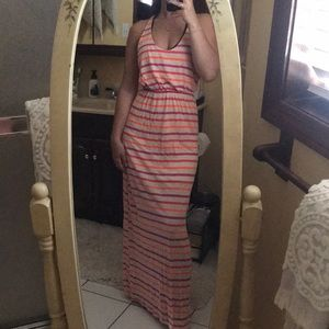 Dresses & Skirts - Bright striped maxi dress
